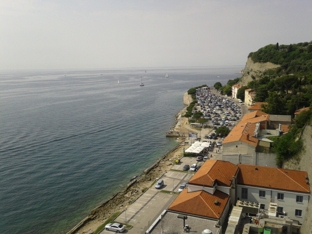 A view on Portoroz, Slovenia from the conference venue