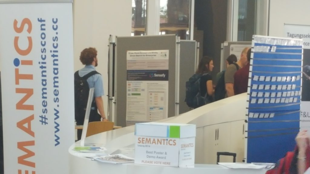 Sensefy Poster at Semantics